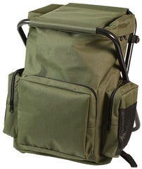 Rothco Olive Backpack & Stool Combination