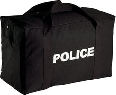 Rothco Police Logo Black Gear Bag