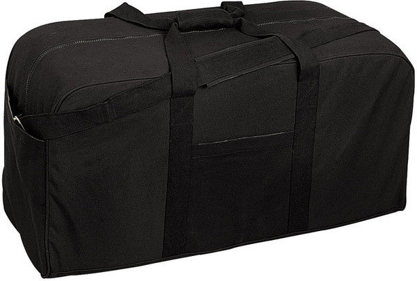 Rothco Black Jumbo Cargo Bag