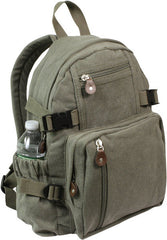 Rothco Olive Drab Vintage Mini Backpack