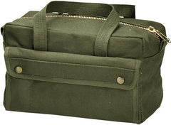 Rothco Olive Brass Zipper Mechanics Tool Bag