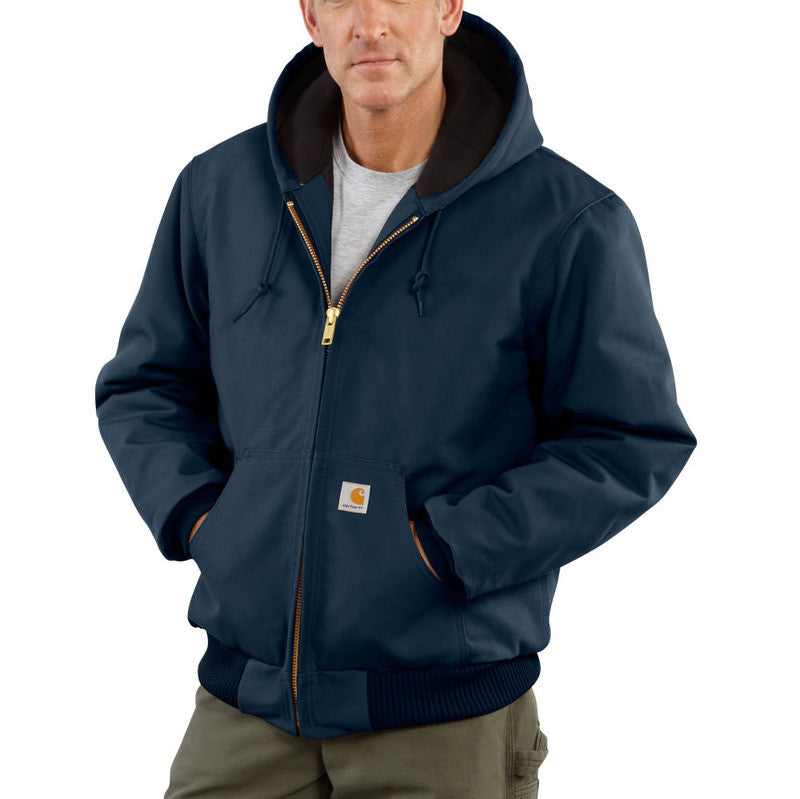 Carhartt J140 Quilted Flannel Lined Duck Active Jac