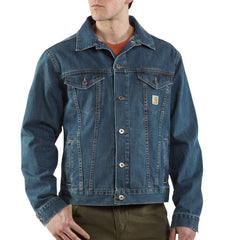 Carhartt J291 Denim Jean Jacket
