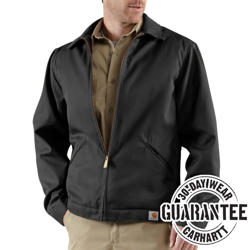 Carhartt J293 Midweight Quilt Lined Twill Work Jacket