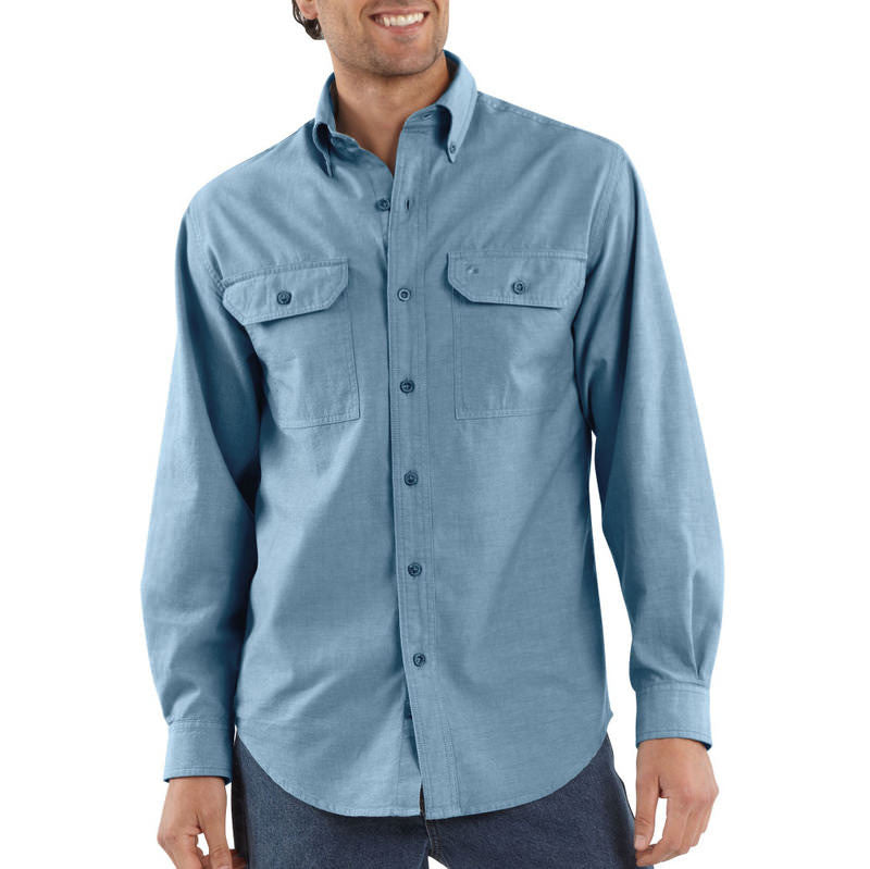 Carhartt S202 Long Sleeve Chambray Shirt