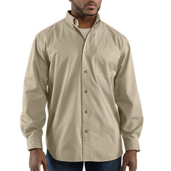 Carhartt 100085 Hines Solid Long Sleeve Shirt