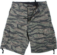 Rothco Tiger Stripe Camouflage Vintage Military Infantry Utility Shorts