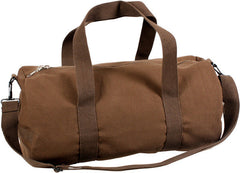 Rothco Earth Brown Vintage Military Canvas Duffle Shoulder Bag