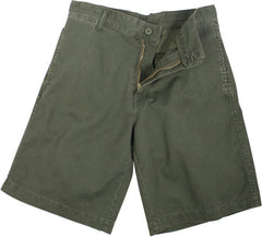Rothco Olive Drab Vintage 5 Pocket Military Paratrooper Cargo Shorts