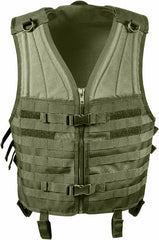 Rothco Olive Drab MOLLE Modular Military Tactical Assault Vest