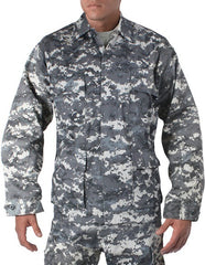 Rothco Subdued Urban Digital Camouflage Military BDU Fatigue Shirt
