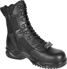 Rothco Forced Entry 8 Inch Side Zip Composite Toe Tactical Boot