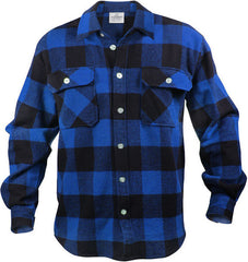 Rothco Heavyweight Brawny Plaid Flannel Shirt