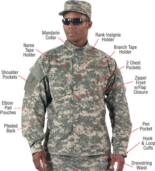 Rothco ACU Digital Uniform Shirt
