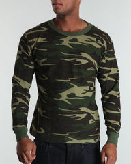 Rothco Woodland Camouflage Thermal Shirt