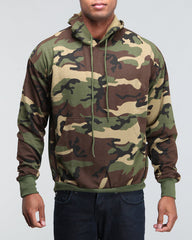Rothco Woodland Camouflage Pullover Hooded Sweatshirt