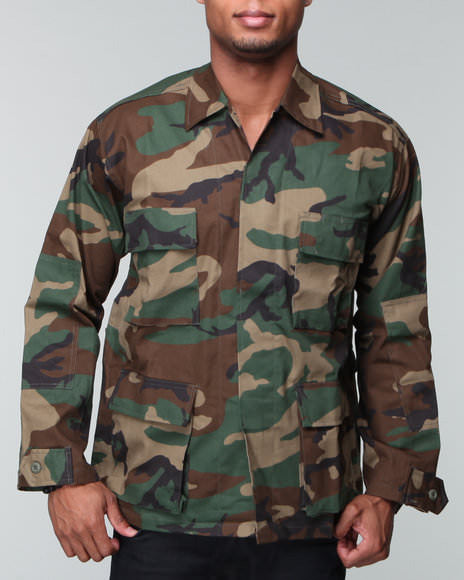 Rothco Woodland Camouflage BDU Shirt