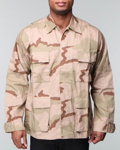 Rothco Tri-Color Desert BDU Shirt