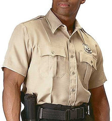 Rothco Khaki Short Sleeve Uniform Shirt