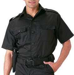 Rothco Black Short Sleeve Tactical Shirt