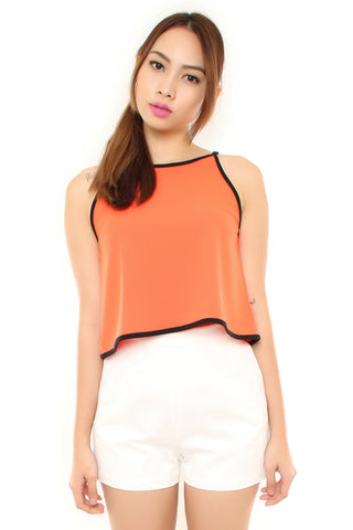 Alba Top - Orange