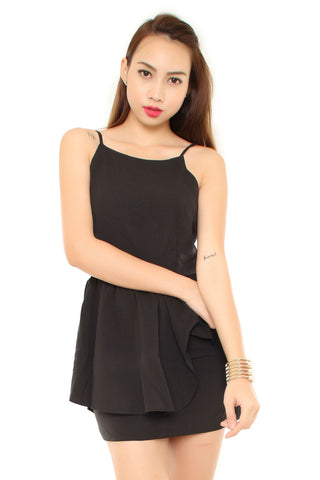 AIMEE DRESS IN BLACK