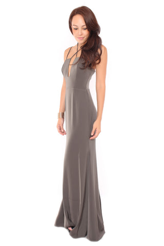 Auds Ball Dress in Grey