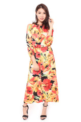 SUMMER ADAIR MAXI DRESS - SUNSET