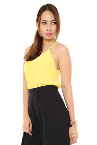 Caelynn Cami in Lemon