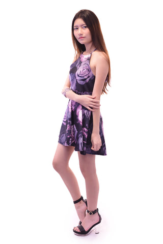 ABELLA HALTER DRESS