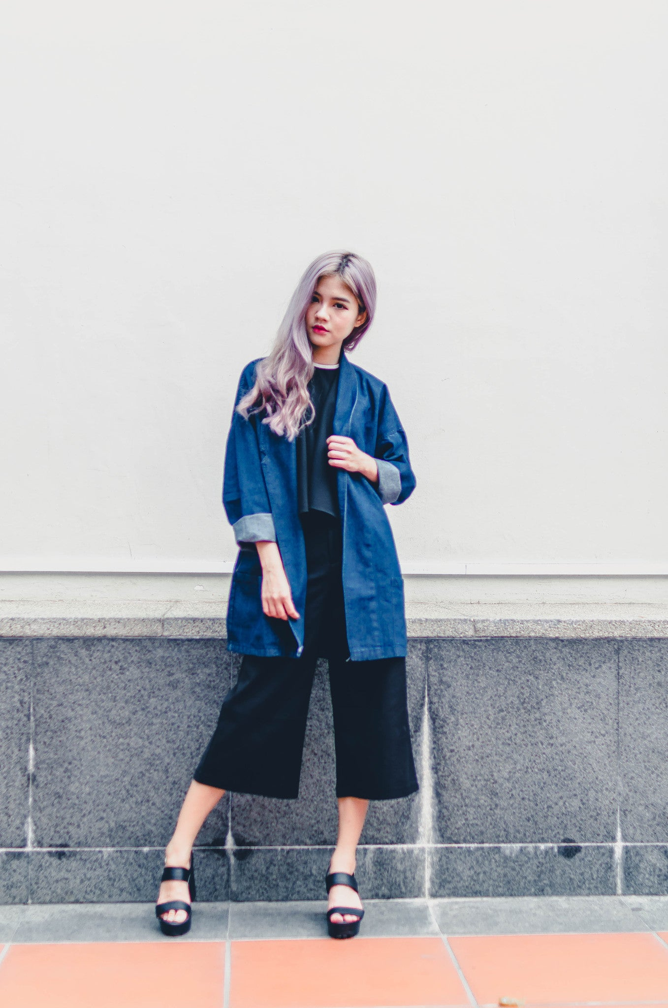 Denim Daze Jacket - Dark