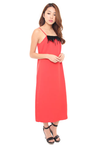 Dawn Dress - Red
