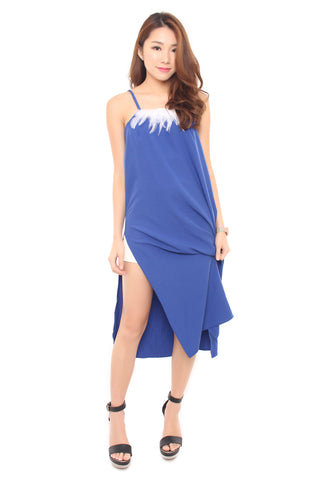 Dawn Dress - Cobalt