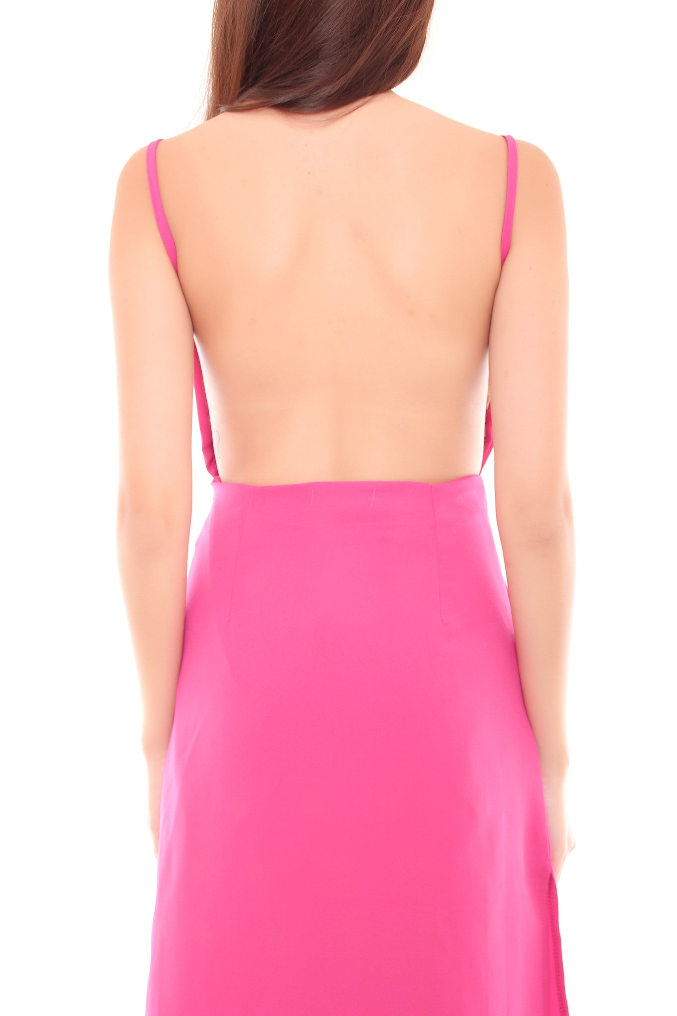 Kendall Slit Dress in Pink