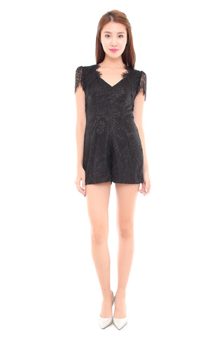 Lace Exclusive Romper