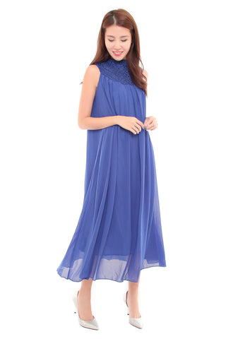 Charlotte Maxi in Cobalt