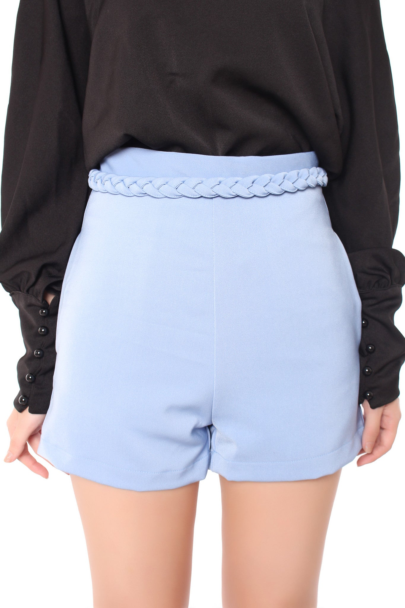 Rope It Shorts in Blue