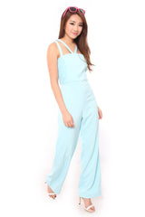 Romance Jumpsuit in Mint