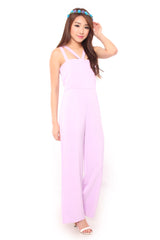 Romance Jumpsuit in Lilac