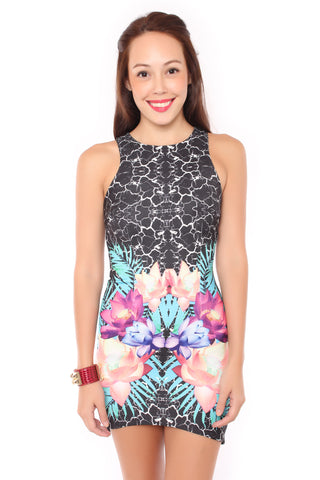 Marble Hady Dress (Black)