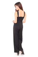 Romance Jumpsuit in Black