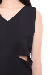 LUX SIDE SLIT - BLACK