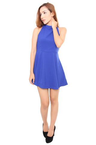 NAOMI DRESS IN BLUE