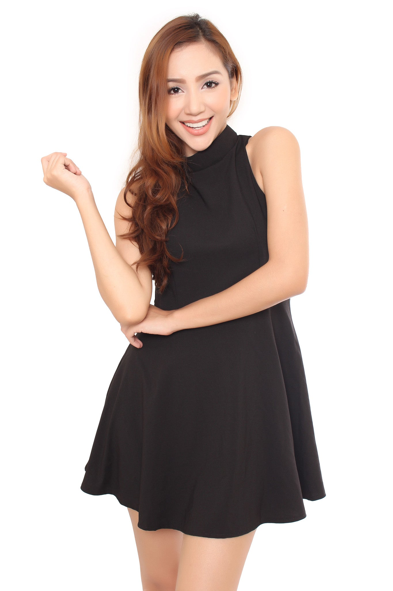 NAOMI DRESS IN BLACK