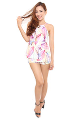 LEAF ME PLAYSUIT #1