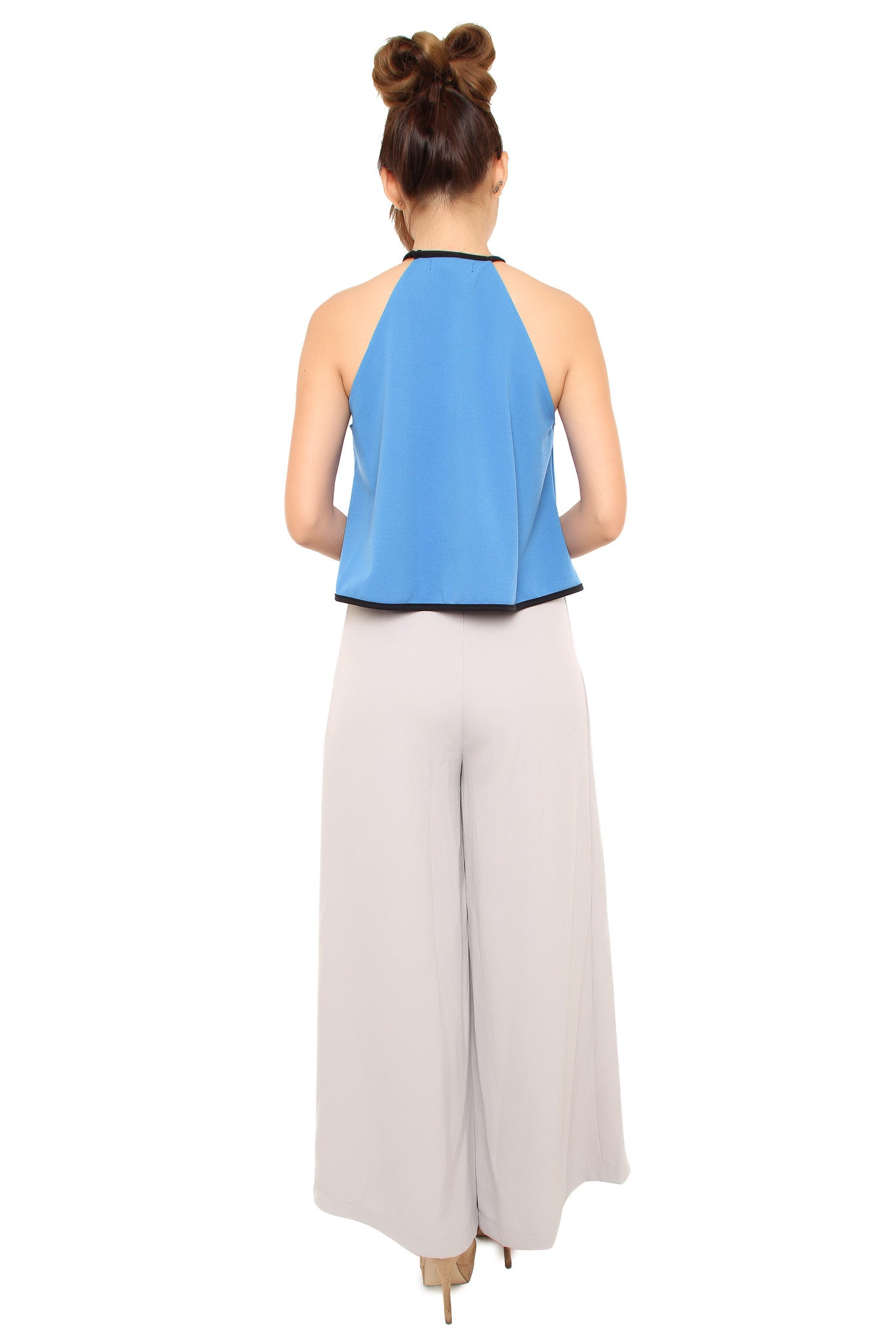 Alba Top - Palace Blue