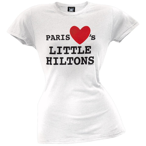 Paris Hearts Little Hiltons Juniors T-Shirt