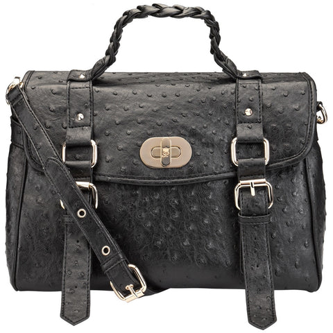 Nomade Black Handbag
