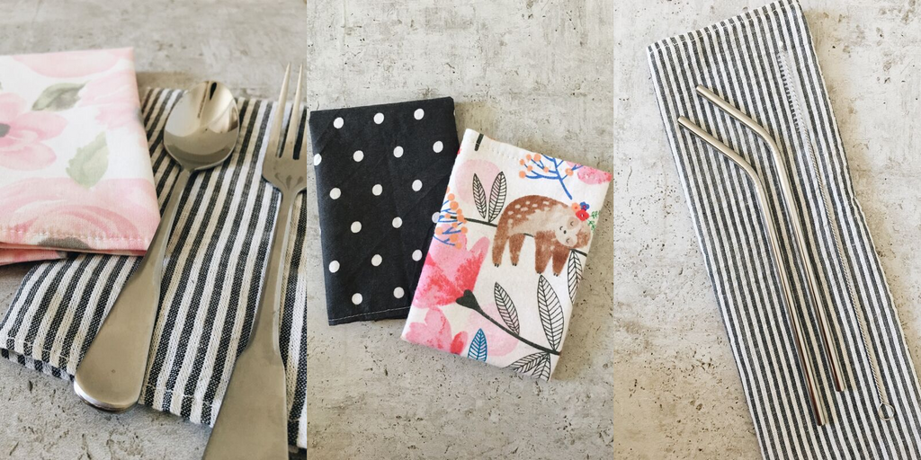 Reusable Cloth Napkins Alternative to Paper Towels
