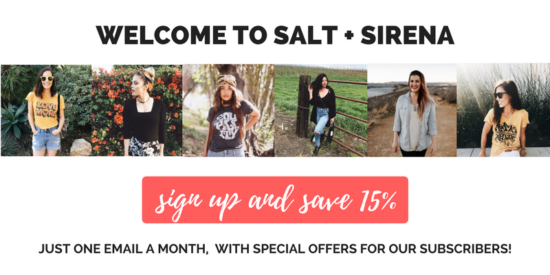 c5b41d41f158a 2019 Salt + Sirena. Powered by Shopify